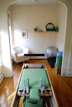 Pilates studio. Simple, yet effective.