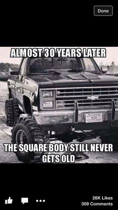 Square body still is my favorite