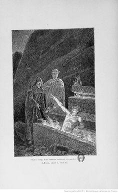 La divine comédie (Nouvelle édition) / Dante Alighieri ; traduction de Artaud de Montor ; illustrations de Yan Dargent   http://gallica.bnf.fr/ark:/12148/bpt6k5449871p/f61.highres