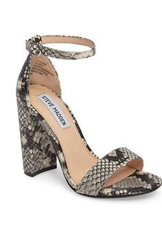 Free shipping and returns on Stuart Weitzman NearlyNude Ankle Strap Sandal (Women) at Nordstrom.com. A slim, demure ankle strap tops a lush suede sandal set on a curved, chunky block heel and polished with a tiny golden buckle.