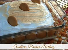 Mommy's Kitchen - Home Cooking & Family Friendly Recipes: Southern Banana Pudding (Old Fashioned Stand By)
