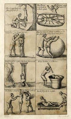 Set of torture  Richard Gaywood  1650-1670
