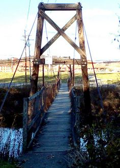 Classic Swinging Bridge,Elkins WV | Flickr - Photo Sharing!