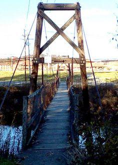 Classic Swinging Bridge,Elkins WV | Flickr - Photo Sharing!