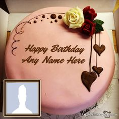 Happy Birthday Chocolate Cake With Name Editor And Photo Provide Unique Way To Celebrate Here We Have Top Cakes For Wishes