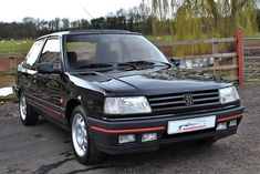 1990 Peugeot LHD,Factory a/c miles For Sale, Exceptional Peugeot 309 GTI 5 speed kilometres miles) Finished in Emba Retro Cars, Vintage Cars, 309 Gti, Japanese Domestic Market, Car Makes, Driving Test, Old Cars, Peugeot, Pugs