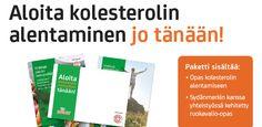 Tilaa oma ILMAINEN infopakettisi postitse! http://www.becel.fi/proactiv/infopaketti_kolesterolin_alentamiseen/