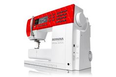 The BERNINA 530 Swiss Red provides legendary stitch quality, a powerful DC motor, 900 stitches per minute and comes with a free exclusive BERNINA suitcase. The specially designed faceplate celebrates the precision of quilting and Swiss craftsmanship. The BERNINA Stitch Regulator (BSR foot) can be added as an accessory at any time. [Promotional Pin] [Promotional Pin]