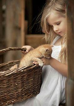 How cute! | kids with pets | | pets | | kids | #pets https://biopop.com/