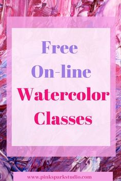 Take free on-line watercolor classes and boost your skill, today! Watercolor Beginner, Watercolor Paintings For Beginners, Watercolor Art Lessons, Watercolor Tips, Watercolor Projects, Painting Lessons, Watercolor Techniques, Watercolor Classes, Simple Watercolor