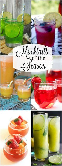 In need of the perfect refreshing beverage without the alcohol? These are the Mocktails of the Season that are sure to set the mood of the season.