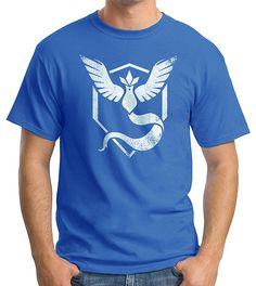 Camiseta Pokemon Go Team Mystic