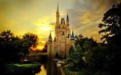 Cinderella Castle MacBook Pro Wallpaper HD