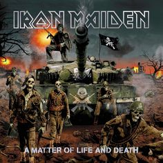 Iron Maiden - A Matter of Life and Death - 2006 Album Cover