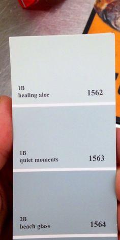 Bedroom paint pick. Benjamin Moore 'healing aloe'