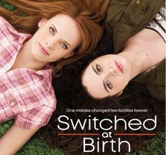 Switched at Birth-I love this show! I started watching it last season and cannot wait for the new Fall premiere! Two girls were switched at birth and find out 16 years later and now live together, along with their families! It is a drama filled show and I love every minute!