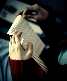 """""""If you find a girl who reads, keep her close. When you find her up at 2 AM clutching a book to her chest and weeping, make her a cup of tea and hold her. You may lose her for a couple of hours but she will always come back to you. She'll talk as if the characters in the book are real, because for a while, they always are. Date a girl who reads because you deserve it. You deserve a girl who can give you the most colorful life imaginable."""" - Robert Pattinson"""