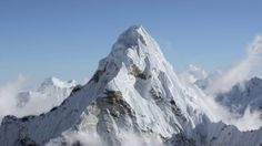Aerial footage of the Himalayas