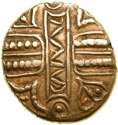 This coin was issued by the great Celtic King Cunobelin, a very important figure in the history of Great Britain.