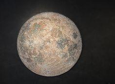 DREAMING THE MOON Mosaic by Dino Maccini