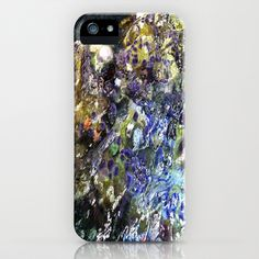 Colours in the Water iPhone & iPod Case by Lynn Bolt - $35.00