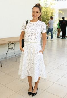 Fabulously Spotted: Jessica Alba Wearing Tanya Taylor - Hammer Museum K.A.M.P. 2014 - http://www.becauseiamfabulous.com/2014/05/jessica-alba-wearing-tanya-taylor-hammer-museum-k-a-m-p-2014/