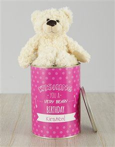 Perfect birthday teddy bears for her Gifts , Netflorist offers a range of birthday teddy bears for her Gifts. Same Day Delivery Service, Best Baby Gifts, Personalized Baby Gifts, New Parents, Baby Names, Tin, Birthday Gifts, Teddy Bear, Amazing