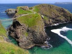 CARRICK. A-REDE ISLAND, IRELAND