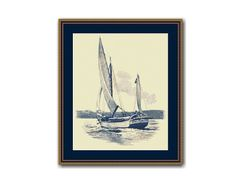 """Sailboat """"Spray"""" Counted Cross Stitch Pattern / Chart,  Joshua Slocum's Sloop """"Spray"""", Nautical Instant Digital Download   (AP392) Counted Cross Stitch Patterns, Cross Stitch Designs, Mode Of Transport, Dmc Floss, Digital Pattern, Sailboat, Colours, Black And White, Etsy"""