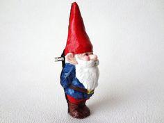 Garden Gnome Brooch