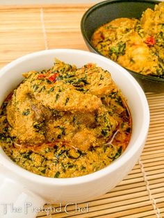 Fried Egusi Soup Fried Egusi soup, another way to cook this Nigerian soup easy and straight forward, soup is mushy without clumps pounded yam as an accompaniment – food-recipes Nigeria Food, Ghana Food, Indian Food Recipes, Whole Food Recipes, Ethnic Recipes, African Recipes, Nigerian Food Recipes, Jollof Reis, Egusi Soup Recipes