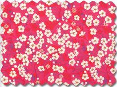 Liberty Art Fabrics - MITSI rot - Tana Lawn von Liebling Berlin - Stoffe auf DaWanda.com