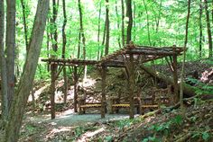 'Falling Waters Pergola North'  - One of two pergolas and several other structures we built for Falling Waters Preserve in Glasco, NY.