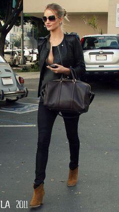 Just a reminder to myself to not feel weird about pairing brown and black . . . #fashion #style