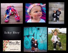 Bamagirl and Icky Boy My name is Michelle Vaughan a stay at home mother of three to Nixon 4yrs, Xander 3yrs & Delta 17months. In my spare time I design and create funky fun kids clothing from my sewing workshop/ converted garage at home. I love creating clothing with a point of difference and cater for ages newborn-5years. Rad threads for the Icky Boys & a little bit pretty for the Belle's.  www.bamagirl.co.nz www.facebook.com/bamagirlnz Converted Garage, Kids Clothing, Cool Kids, My Design, Kids Outfits, Workshop, June, Crochet Hats, Facebook