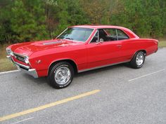 I had one of these in high school - '67 Chevelle SS