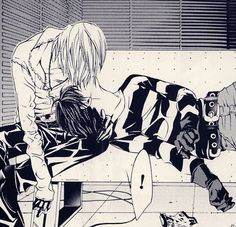 """Worst question to ask yourself is... """"Do I ship Matt with Mello or myself?"""" Just ship both, it will destroy your heart in a lovely way."""
