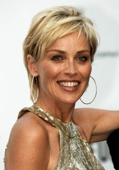 Women Over 50 Short Hair Trends Hairstyles Haircuts Design 500x715 Pixel #Sharon Stone