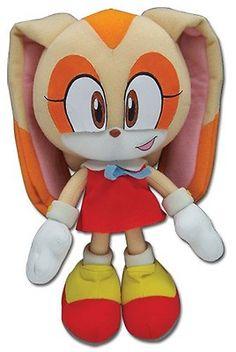 GE-2380 USED - NO TAG Sonic the Hedgehog Sonic Hair Fleece Hat Cosplay