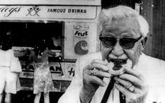 Is this the secret recipe we all crave? Kentucky Fried Chicken founder Colonel Harland T Sanders. Famous Drinks, Colonel Sanders, Kentucky Fried, Sydney City, Secret Recipe, Old Photos, Nostalgia, The Originals, History