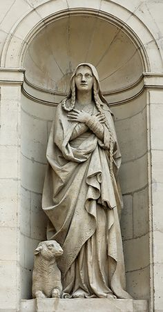 Saint of the Day – 3 January –  St Genevieve – (419-512) – Virgin/Lay Apostle of Charity and Prayer/Servant of God- Patron of Paris  On his way to combat heresy in Britain, St. Germanus of Auxerre made an overnight stop at Nanterre, France. In the crowd that gathered to hear him speak, Germanus .......