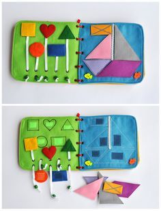 It's a great gift for a child! This book has interesting content and encourage the development of hands. The toy develops fine motor skills,