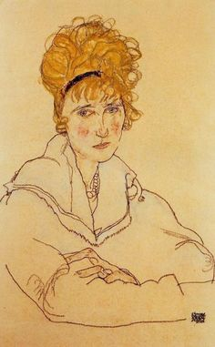 Portrait of Edith, 1918  Egon Schiele  http://wimvisscher.tumblr.com/page/4