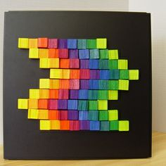 Playart: Colorful self-made art-pieces for your home