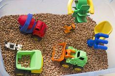 caja para jugar con los coches pequeños