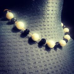 Collar - Perlas Bohemia y Cristales Checos