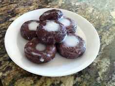 Fuel Pull Glazed Chocolate Donuts | Trim Healthy Mama