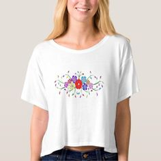 colorful flower bouquet t-shirt -nature diy customize sprecial design