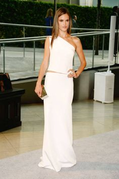 Alessandra Ambrosio 2013 CFDA Awards red carpet