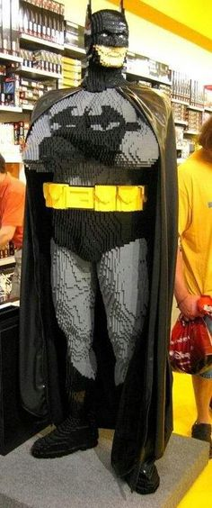 A Giant Lego Batman!